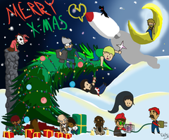 A Merry Mindcrack Christmas by FitzytheShark