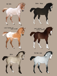 2 foals left!! For sale for 100 points!! by Wakimi