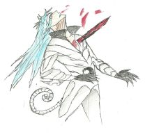 Impaled-Grimmjow by DPPHAN
