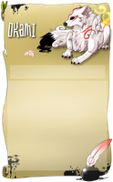 Okami Skin FREE USE NEW! *edit by Wolfvids
