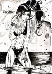 ''Ink me!'' said the muse. by CaelpHer