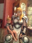 Me as Janne and my nephew by cimmerianwillow