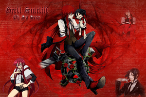 Grell Sutcliff by CalypsoKid95