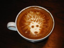 Witch from L4D latte Art by mrskupe
