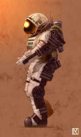 Future Colonist by NicholasKay