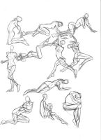 A Year of Gesture Drawing: 023/365 by TommyOliverDraws