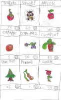 lost plantsvs.zombies seeds by con1011