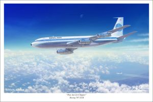 Pan Am Jet Clipper by markkarvon