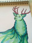 Ethereal Stag by FaeElixir