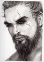 Khal Drogo by ThessaGreenleaf