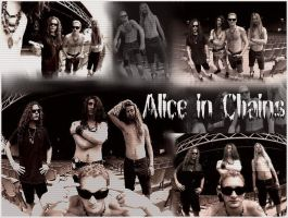 Alice in Chains by Laynesgirl