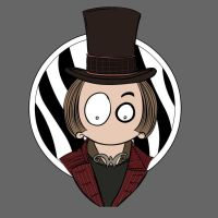 MsGothje as Willy Wonka by MsGothje