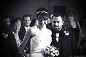 Julie - Down the Aisle by gdphotography