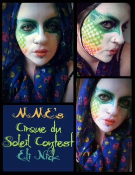 Cirque Du Soleil inspired contest entry by purpleartichoke