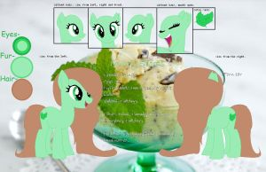 New OC: Minty Scoops! +Ref by SNlCKERS