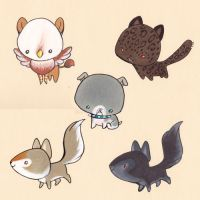 lil folder animals 3 by lizspit