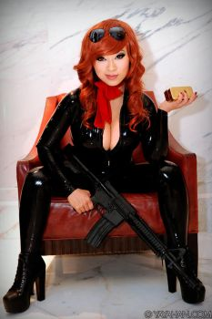 New costume! Fujiko Mine - Lupin III by yayacosplay