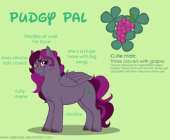 Sheet: Pudgy Pal by Zelendur