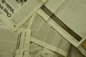 Vietnam newspapers-34 by Vnstockphoto