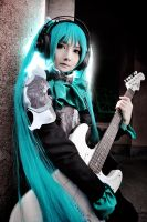 Hatsune Miku VOCAROCK ver._VOCALOID by AMPLE-COSPLAY