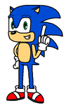 Sonic The Hedgehog by Mighty355