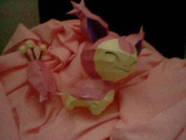 First Papercraft Ever, Skitty by PrincessStacie