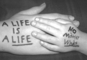 Pro Life: A LIFE IS A LIFE by Princess-Kraehe