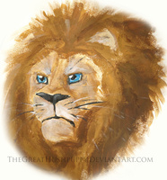 The Lion by TheGreatHushpuppy