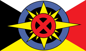 Adaptation of SD Flag by Dick Termes 2 by elCal