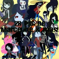Marceline png by miedithions