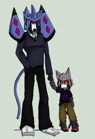 Kittycon: Father And Son by Usa-Wolfdog