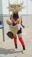 Justicar Syndra from League of Legends at AX 2013 by trivto