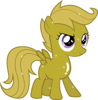 Golden Scootaloo by Silentmatten