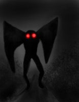 The Mothman cometh by wolf117M