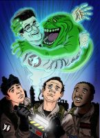 R.I.P Harold Ramis by soletine