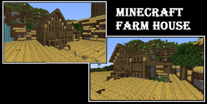 Minecraft farm house by EmilyDaCool