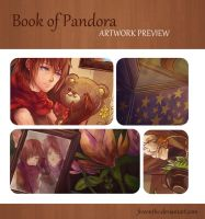 Artbook Preview: Book of Pandora by Fiveonthe