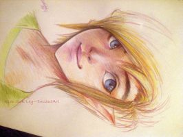 Practice- Mixed portrait by Kim-SukLey
