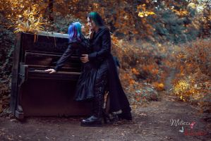 Gothic Couple_2 by AngeliqueDeSange
