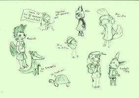 Chat Doodles part whatever by Elen93