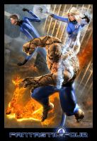 FANTASTIC FOUR by DouglasShuler