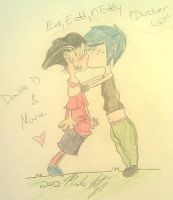 Edd x Marie by Subject001