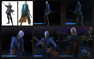 Mitsunari Ishida as Vergil by monkeygigabuster