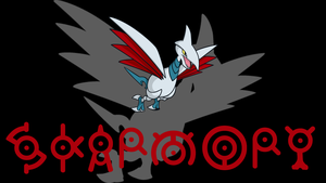 Skarmory Background by JCast639