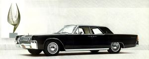After the age of chrome and fins : 1963 Lincoln by Peterhoff3