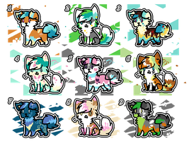 Puppies and kittens adoptables by koshechkazlatovlaska