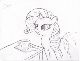 Rarity w/Tea by Xeirla