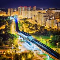 Night Moscow by Tori-Tolkacheva