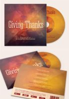 Giving Thanks CD Artwork Template by loswl