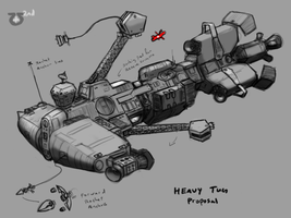 Somtaaw Heavy Tug by Norsehound